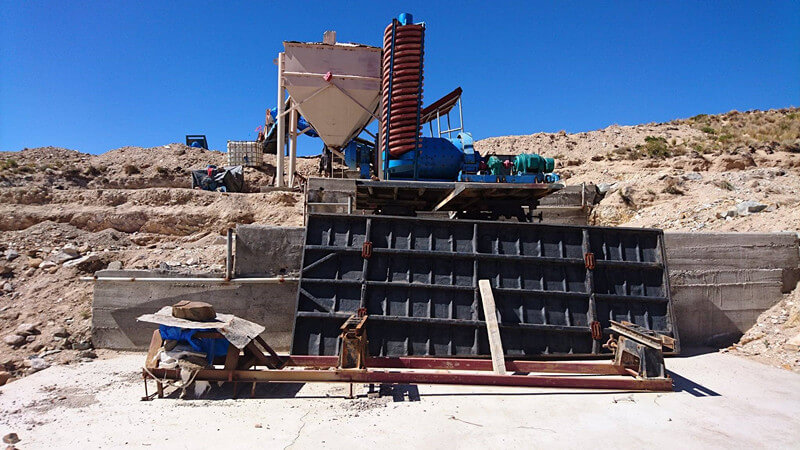 chrome mining spirals
