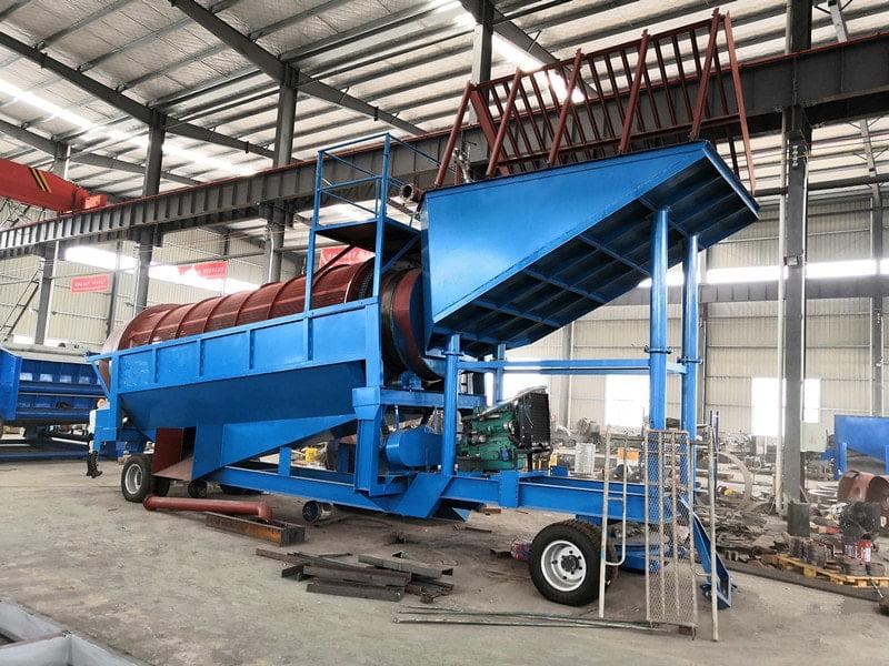 mobile gold wash plant