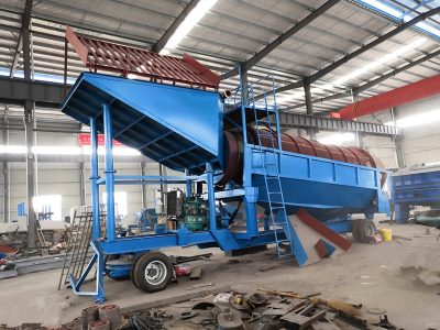 mobile gold processing plant