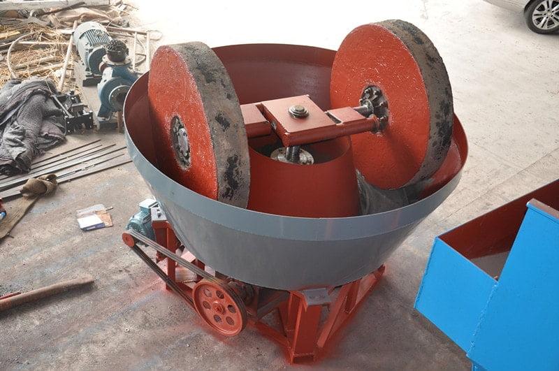 wet pan mills