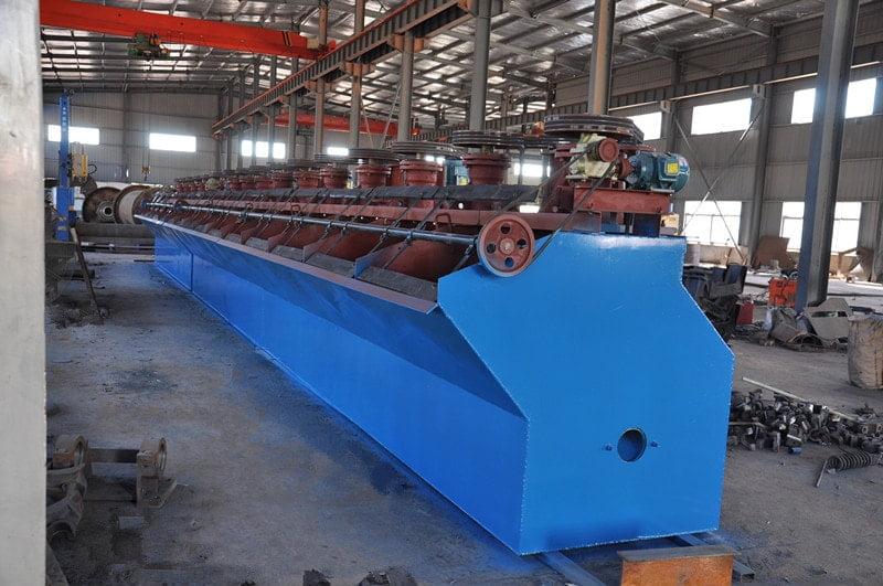 copper flotation machine