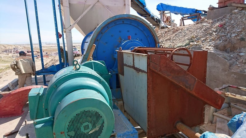 rock gold processing plant