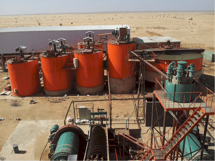 gold CIL plant