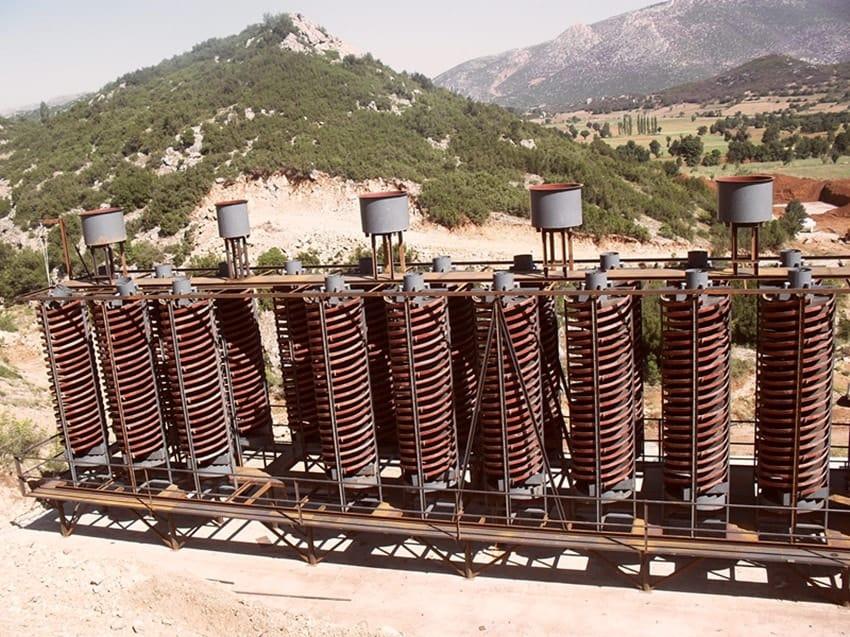 chrome mining machines