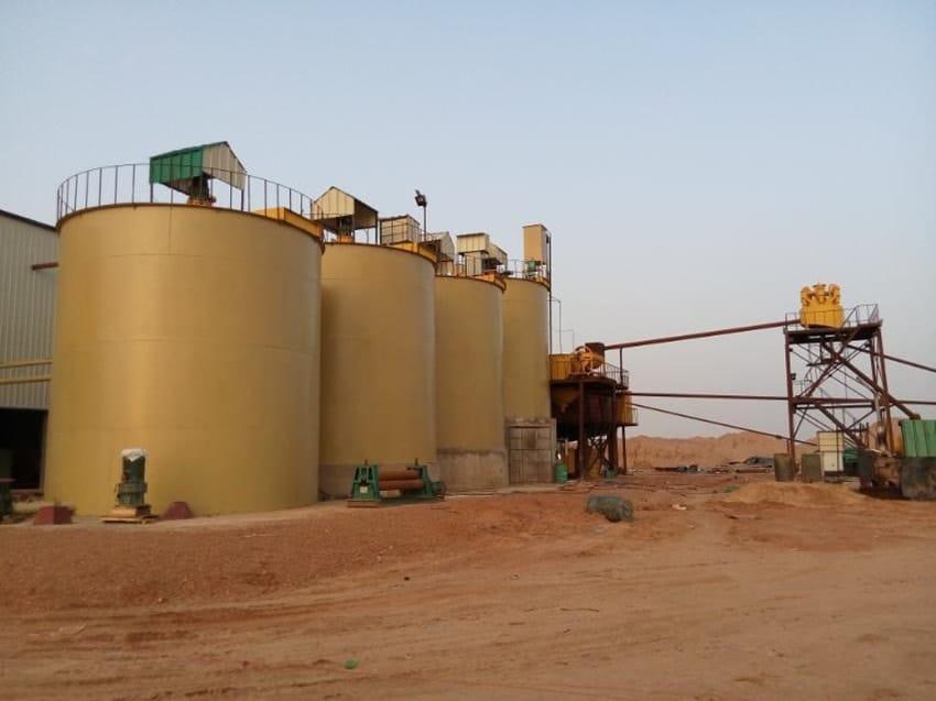gold leaching process