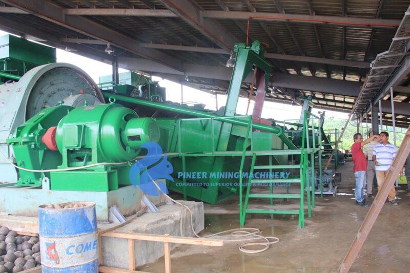 copper flotation plant