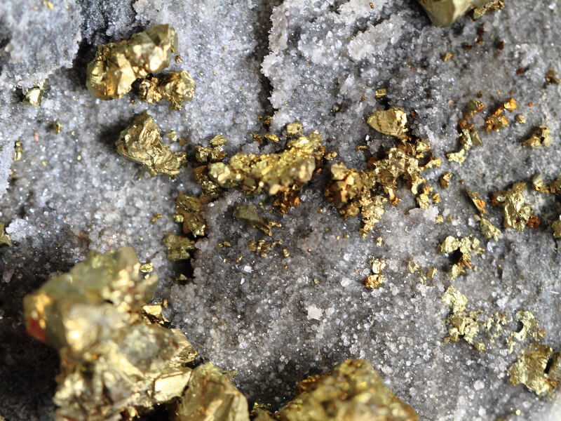 Rock Gold leaching